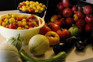 Cosuri cu legume din gradina mea