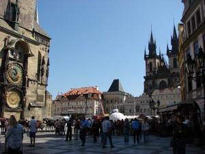 Praga - Piata Veche si Orologiul