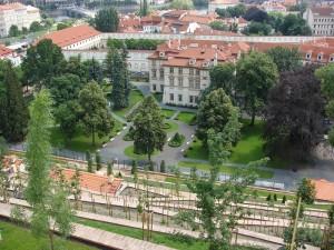 Praga - Din gradina Castelului