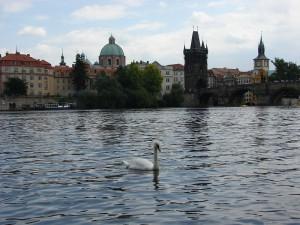 Praga - O gratioasa pe rau