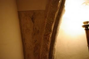 Camera Patricia - detaliu de pe arcada