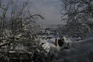 Sighisoara - Orasul vazut din Cetate