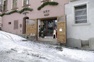 Sighisoara - Magazin de suveniruri din Piata Ratustelor