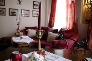 Sighisoara - In interiorul cafenelei