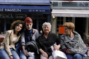 Mama Lela impreuna cu mama si cele doua surori ale mele