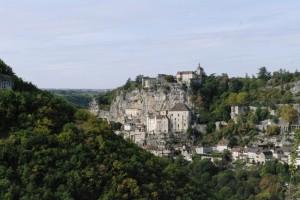 Rocamadour, un oras construit in stanca