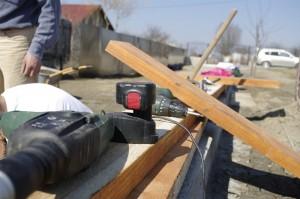 Pregatirile pentru construirea rondurilor din lemn