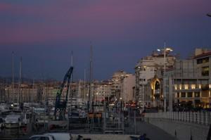 Marsilia la apus