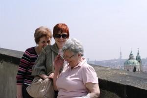 Noi trei vesele in Praga