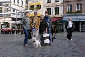 Mama, eu, Mama Lela, Beti si Marty In Honfleur