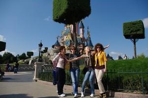 Gasca la Disneyland