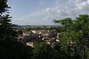 Roma vazuta de pe Colina Ianiculum