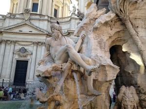 Piazza Navona - detaliu