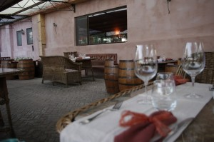 Seara, la cina pe terasa