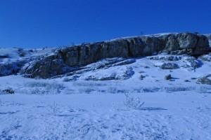 Iarna in Cheile Dobrogei