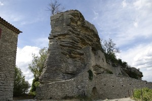 Ruinele cetatii