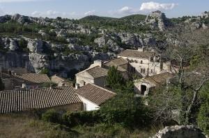 Satul vazut de sus, din Cetate