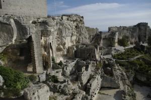 Cetatea vazuta de pe unul dintre turnuri