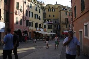 Strada principala din Vernazza