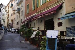 Zona veche si colorata din Nisa