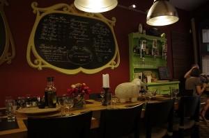 Restaurant micut si intim in zona istorica