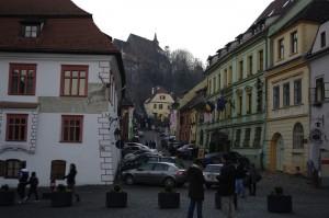 Strada Scolii, Casa cu Cerb si Hotel Sighisoara - 3 simboluri ale Cetatii