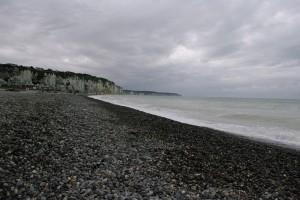 Una dintre plajele cu pietris