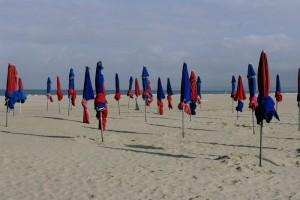 Plaja din Deauville