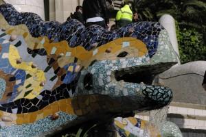 Salamandra a devenit simbolul parcului