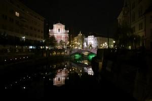 Noaptea prin Liubliana