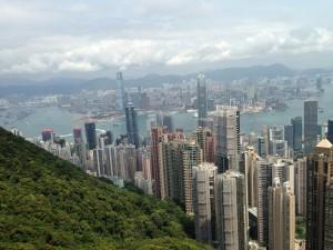 Hong Kong-ul vazut de pe Varful Victoria