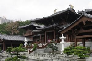 Manastirea Chi-Lin si frumoasele ei curti