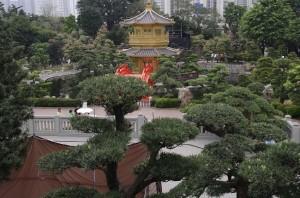 Parcul de langa manastire