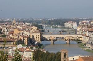 Raul Arno si Ponte Vecchio