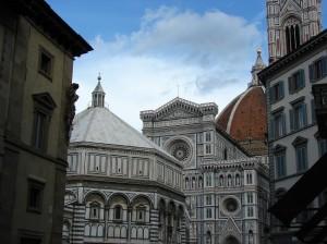 Baptisteriul si cupola Domului din Florenta