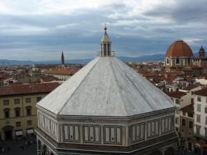 Baptisteriul - Una dintre cele mai vechi cladiri ale Florentei