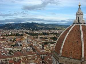 Dupa 414 trepte ale turnului clopotnitei, Florenta se dezvaluie