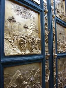 Frumoasele usi proiectate de Ghiberti