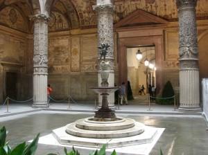 Intrarea in Palazzo Vechio (Palatul Vechi)