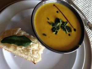 Felul intai - Supa crema de morcov