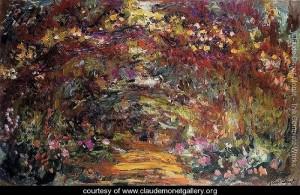 Aceeasi arcada, vazuta de Monet