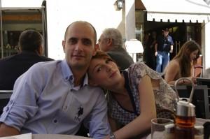 Primul mic-dejun din Roma, pe terasa cafenelei Vitti