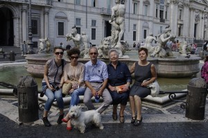 Family - Beti, Evelina, Ionut, bunica, mama si Marty