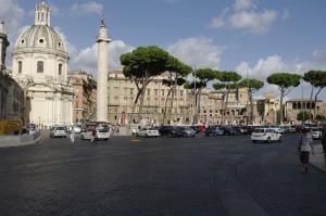 Piazza Venezia si Columna lui Traian