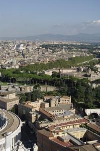 Roma vazuta de sus