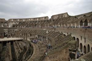 Colosseum-ul in ploaie