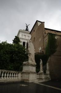 Piazza del Campidoglio, proiectata de Michelangelo