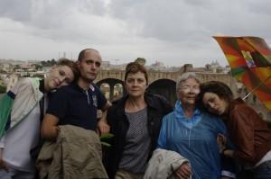 V-am spus ca a plouat intr-o zi, nu? Eram la Colosseum...