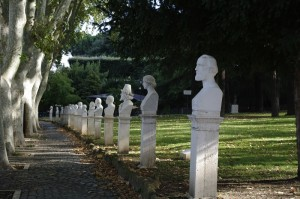 In Parcul Garibaldi