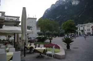 Riva del Garda, in centrul vechi